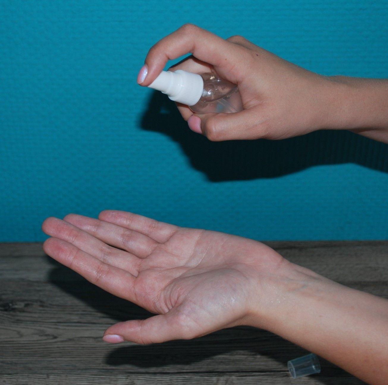 Przepis (DIY) naturalny spray do dezynfekcji rąk