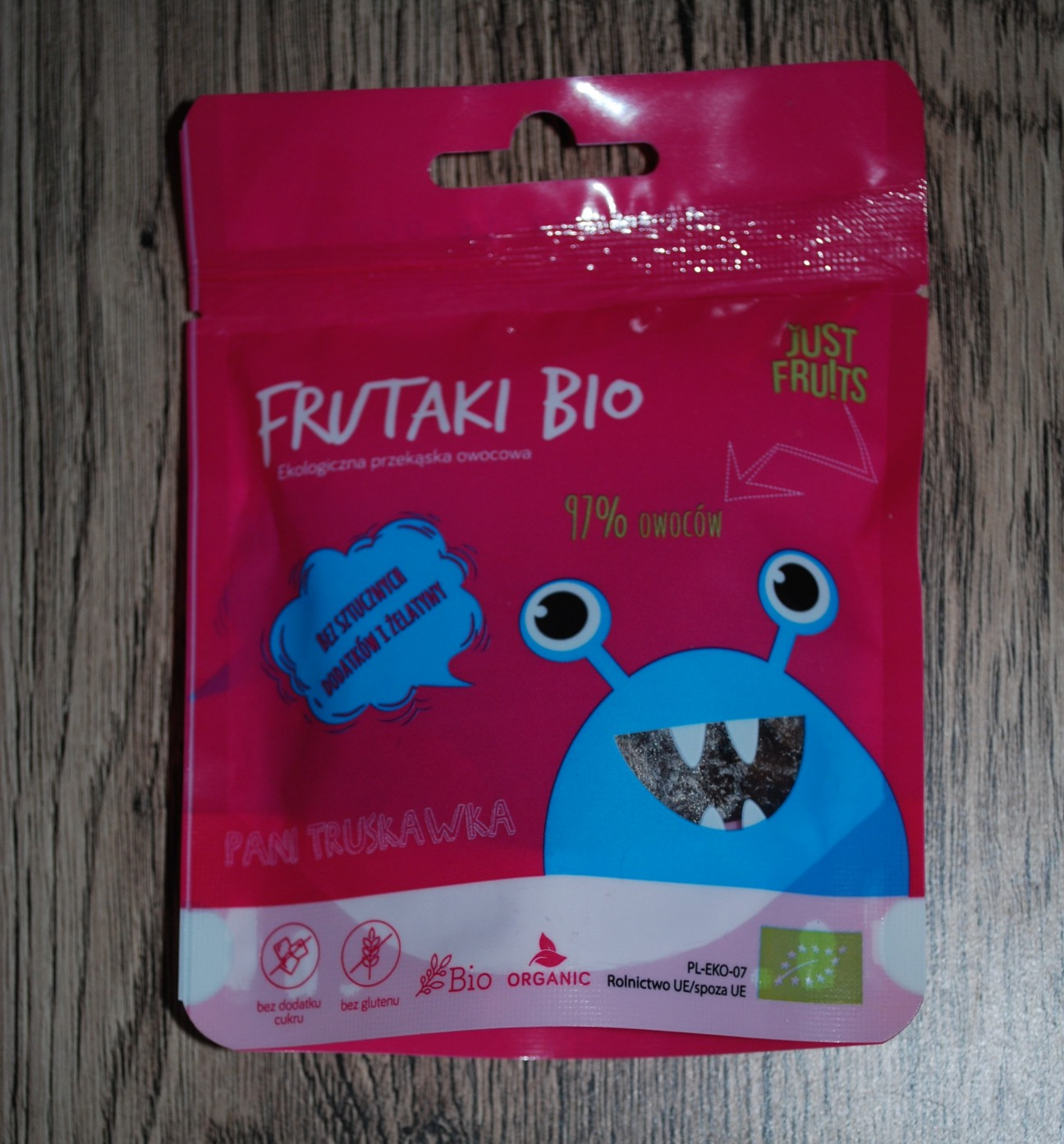 Pyszne naturalne żelki – Frutaki Bio
