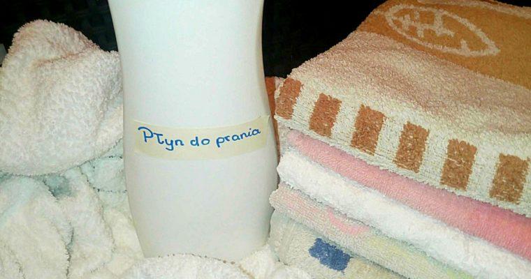 Przepis (DIY) na ekologiczny płyn do prania