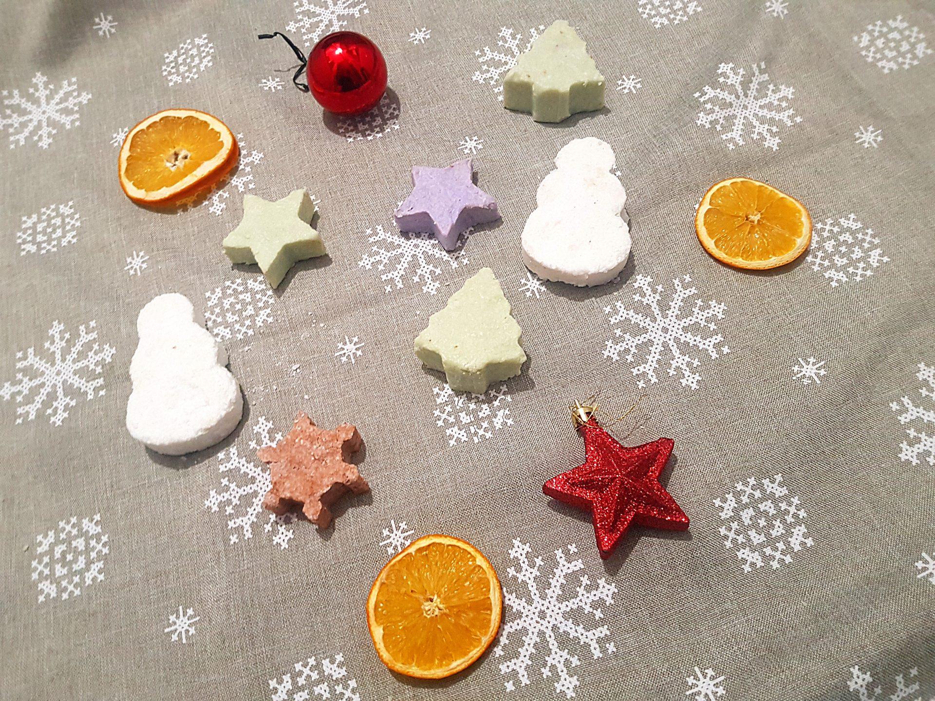 DIY naturalne, świąteczne mydełka