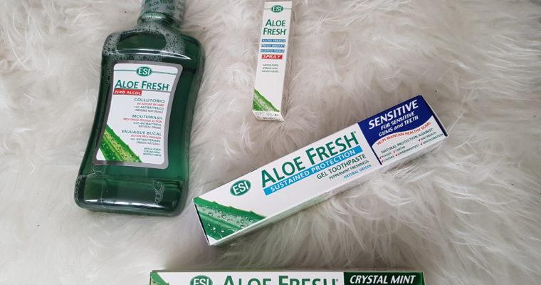 """Naturalne produkty do higieny jamy ustnej Aloe Fresh – """"pod lupą"""""""
