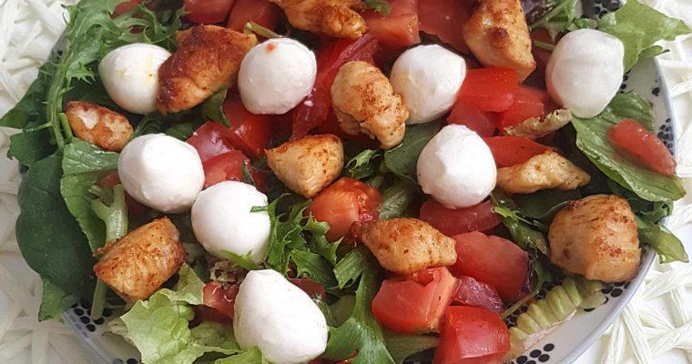 Letnie, zdrowe przepisy czyli chłodnik i sałatka
