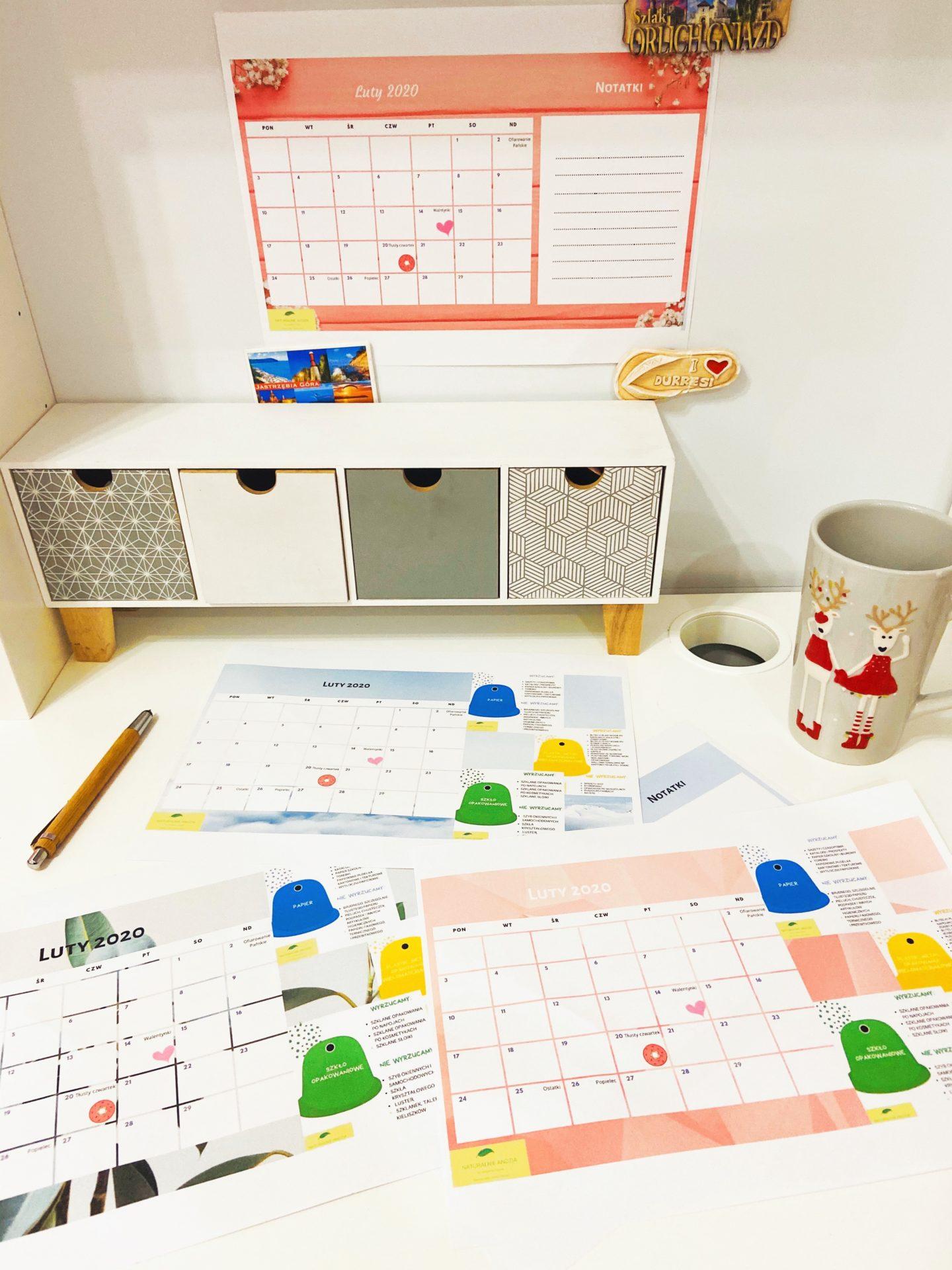 Zaplanuj swój czas – kalendarze na luty 2020 do pobrania