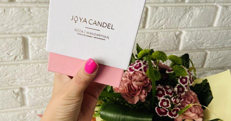 Naturalne świece do masażu z biżuterią – poznaj Joya Candel